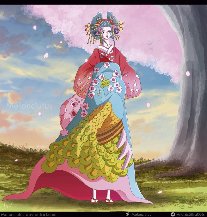 One Piece - Komurasaki (Commission) by Melonciutus
