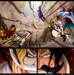 One Piece 966 - Gol D. Roger vs Edward Newgate