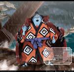 One Piece 976 - Jinbe el Caballero del Mar