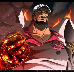 One Piece Fanart - Sakazuki/ Akainu