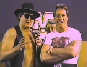 cowboy bob orton + rowdy roddy piper stamp by bellablossomyoutube