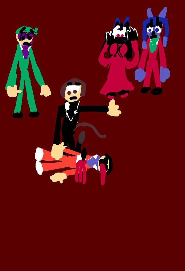Murder Mystery in the Kunai party by skymonkeycaleb1