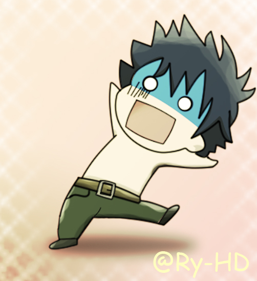 Chibi Gray from Fairy Tail by Ry-HD ...