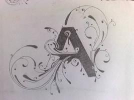 'A' Graphic Design
