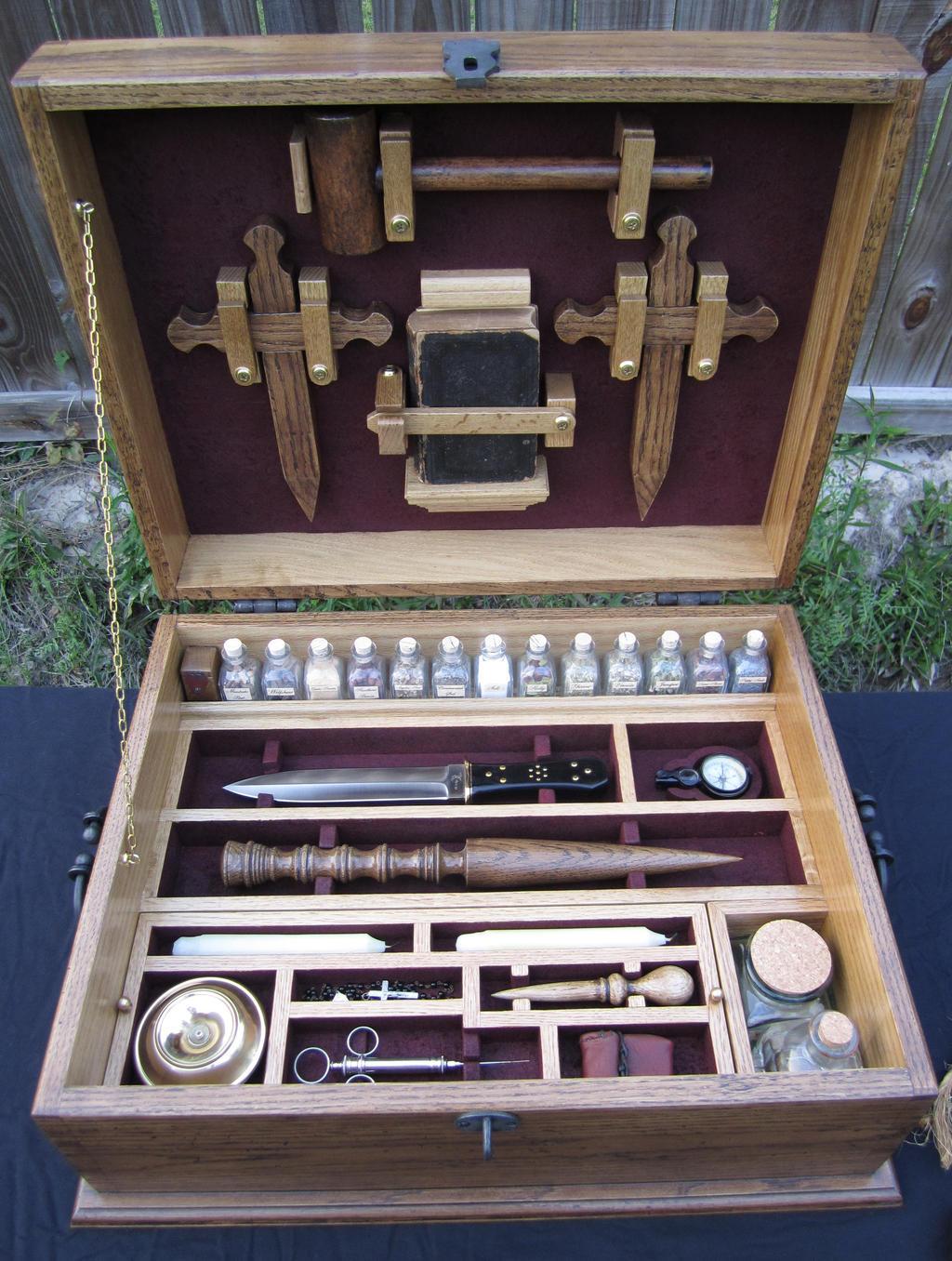 The Vampire Hunting Kit by GreenDragonWorkshop