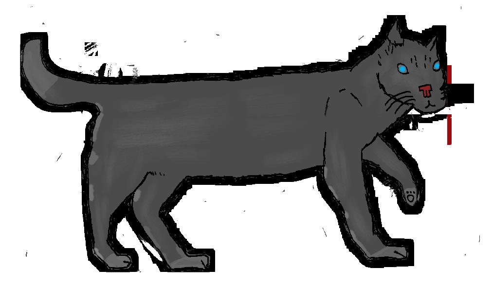 Mosha (A ... Cat ?) by MiuxreL