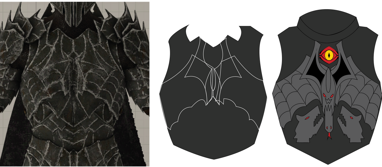 Sauron new Chestplate by KingOfCopper16