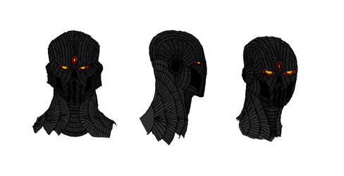 Musingar mk2 head sketches