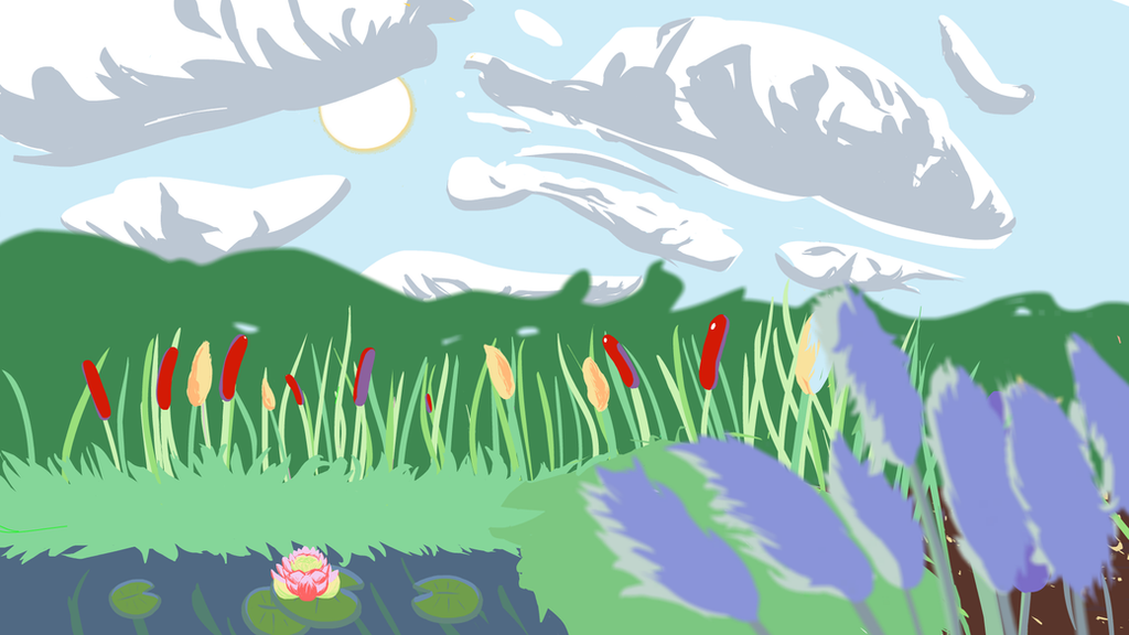 Swamp Background by mcAugustine