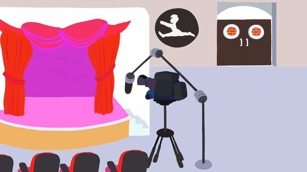 Stage Background by mcAugustine