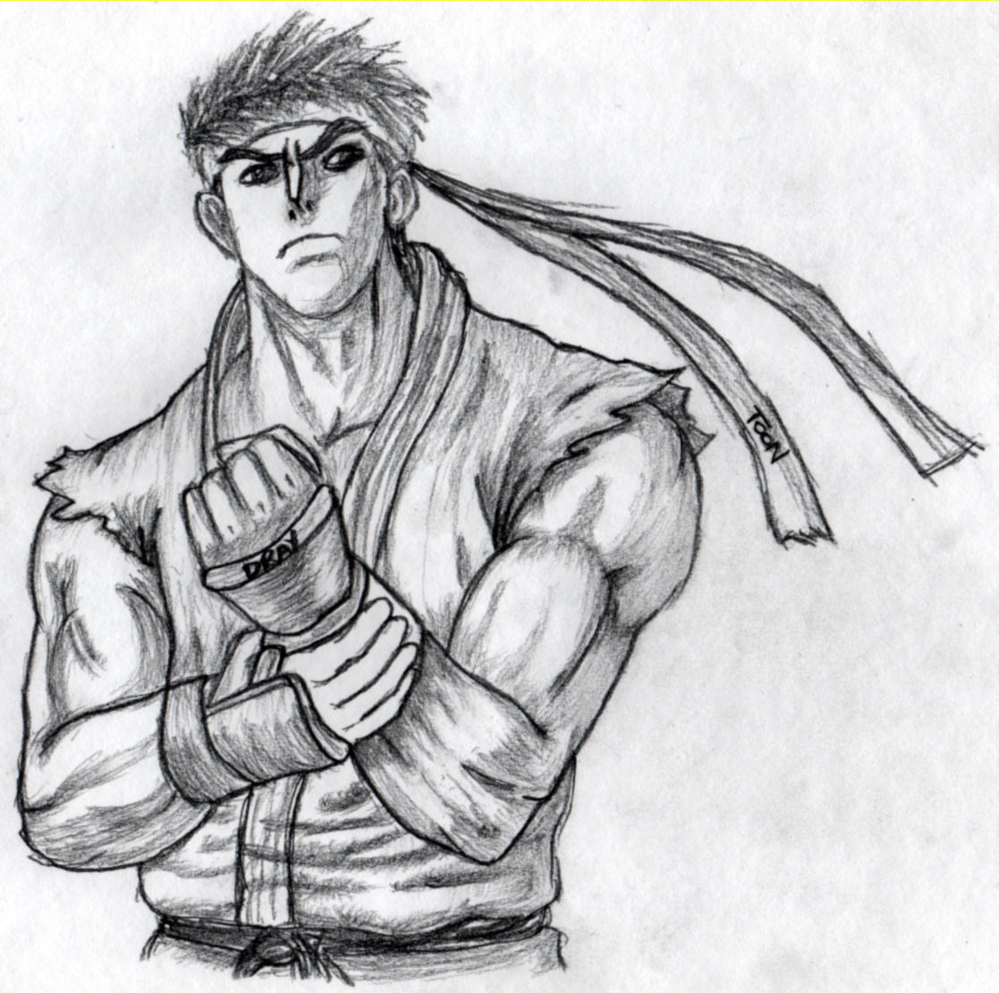 How To Draw Ryu Street Fighter 4