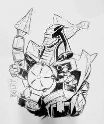 Dragonzord by IndecisiveDevice