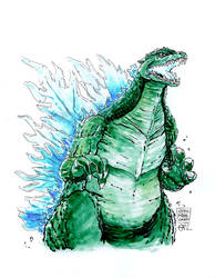 Godzilla by IndecisiveDevice