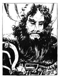 Inktober 2019 Day 5: Bigfoot