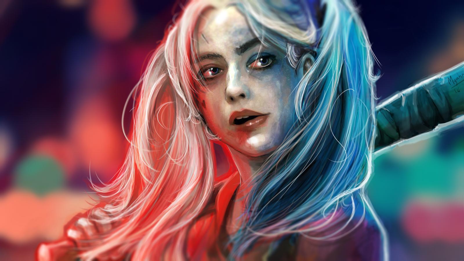 Harley Quinn by mgahn