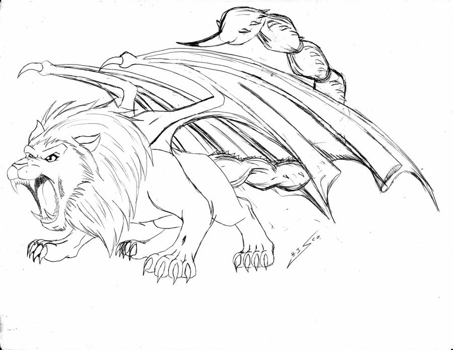 Manticore by Chisco on DeviantArt