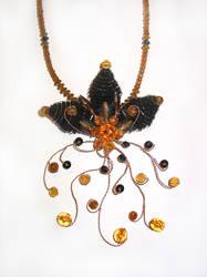 necklace FLOWER III by aquachild