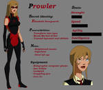 Young Justice OC: Prowler