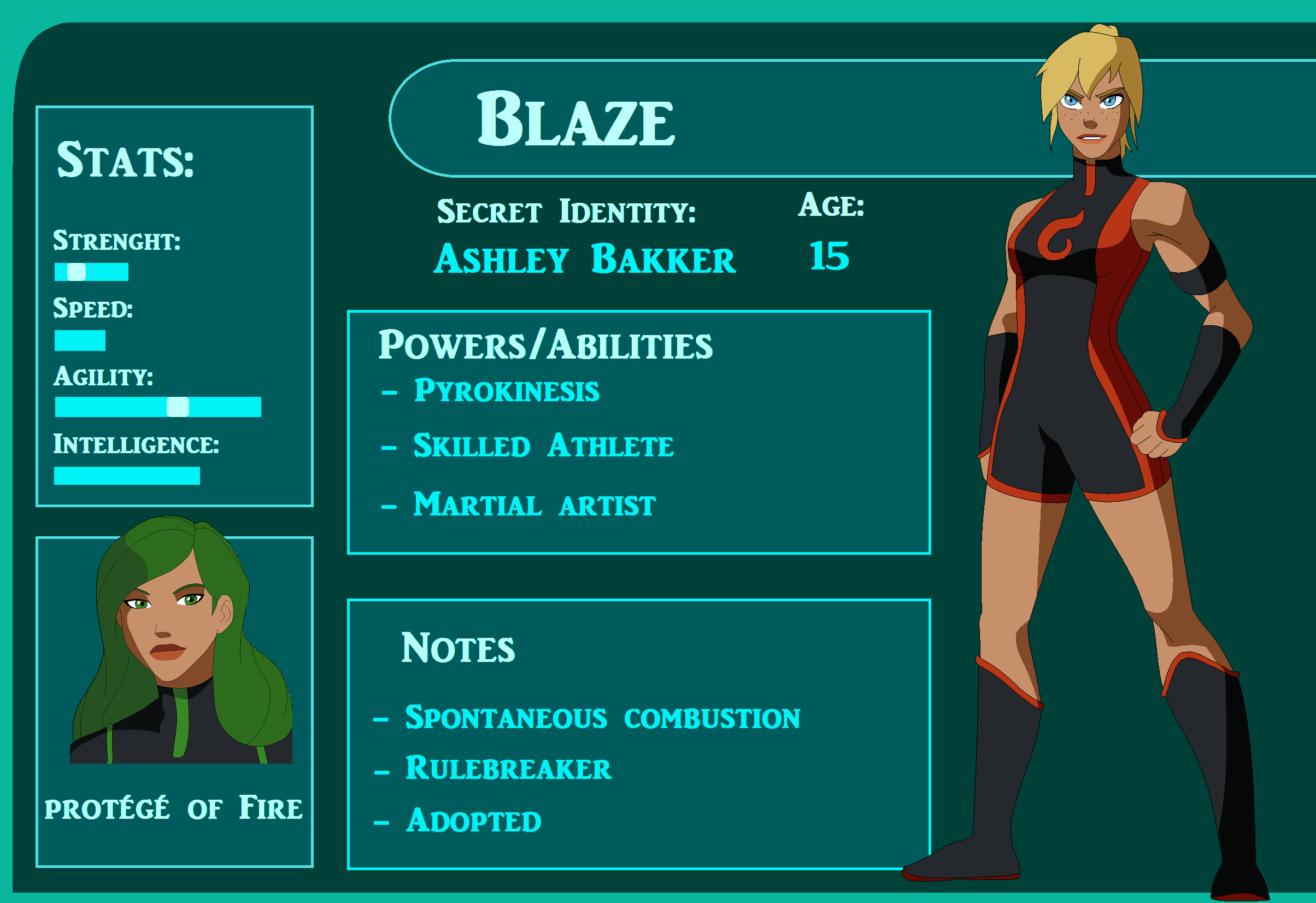Blaze Bio by WickedCurlyFeather on DeviantArt
