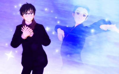 [Yuri on Ice MMD] Shine Bright, Yuri +Video link by Rymoka