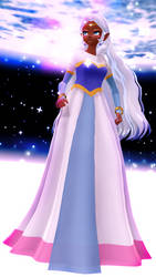 [Voltron MMD] Space princess [WIP] by Rymoka