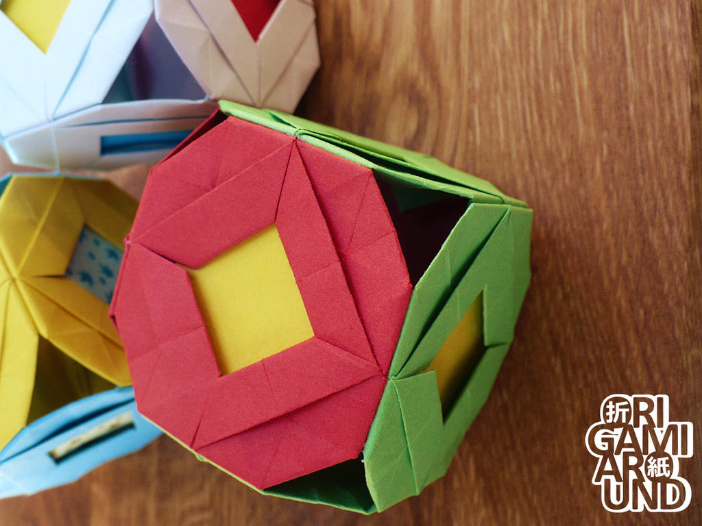 origami cubes 002 by origamiaround on deviantart