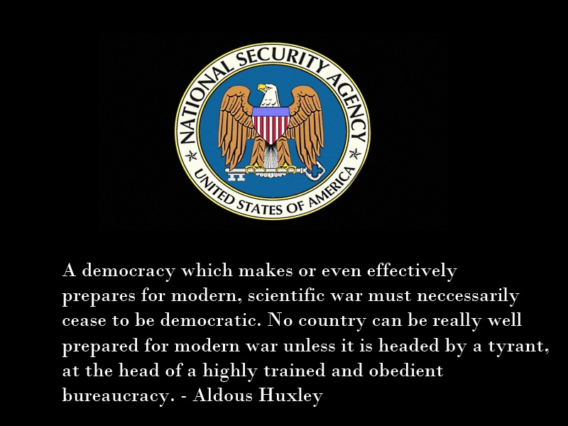 Huxley on War and Democracy by Skargill