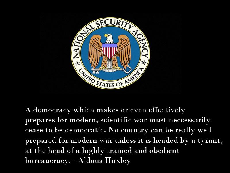 Huxley on War and Democracy by Skargill
