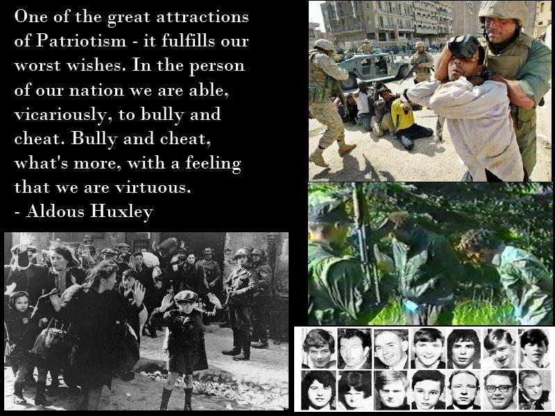 Huxley on Patriotism by Skargill