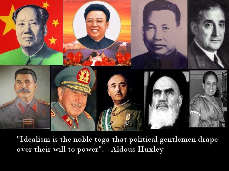 Huxley on Politicians by Skargill