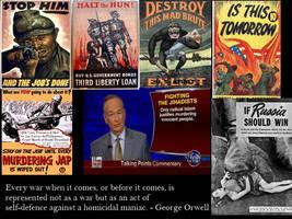 Orwell on Media and War by Skargill