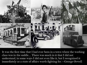 Orwell on Barcelona