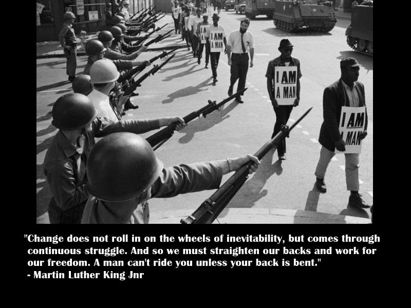 MLK on Change by Skargill