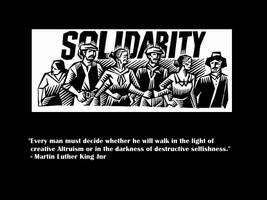 MLK on Altruism by Skargill