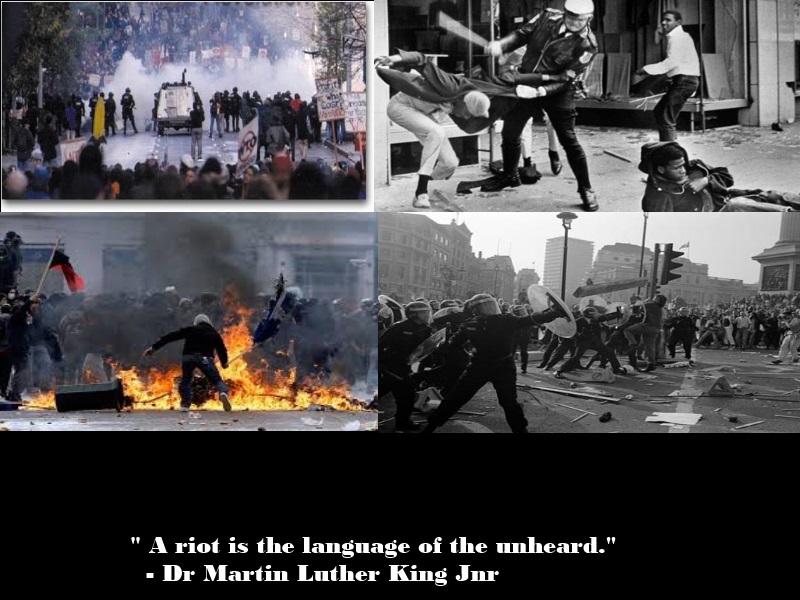 MLK on Riots by Skargill