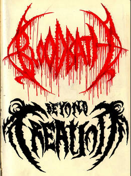 Bloodbath and Beyond Creation logos