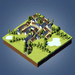 Lowpoly Town