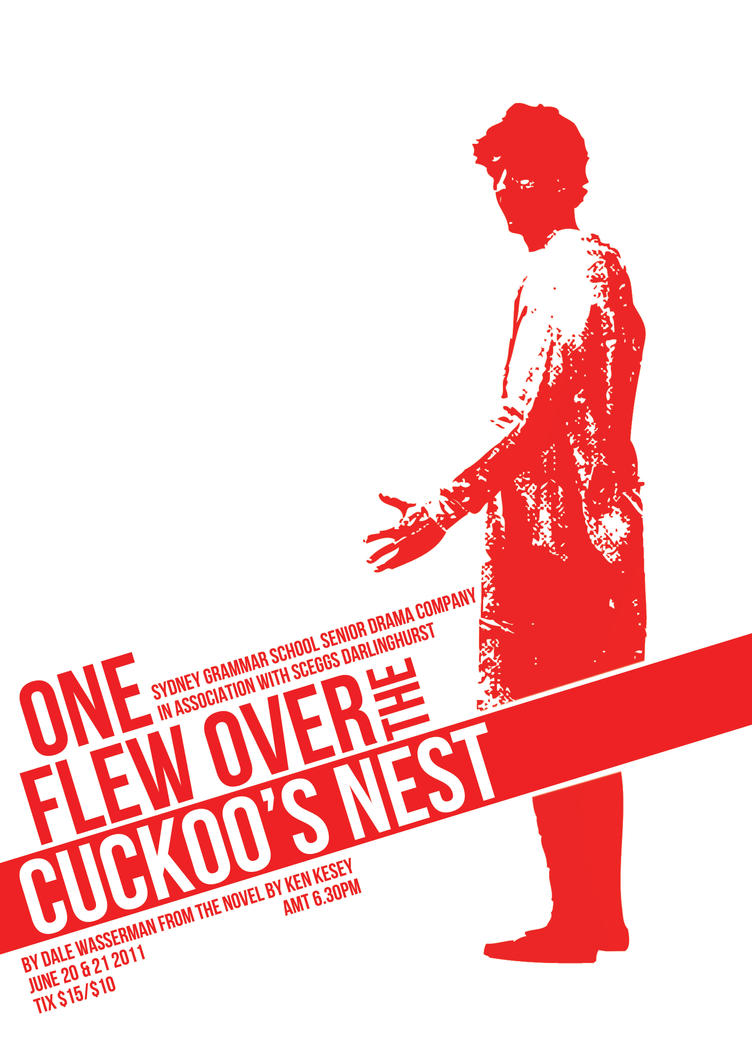 """a discussion on the main characters of one flew over cuckoos nest being non conformists Being dead wrong and really mindy and i have both flown over the cuckoos nest- and i don't want mental hospitals in """"one flew over the cuckoo's nest."""