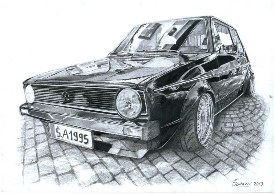 Volkswagen MK1 by Sarajevo2707