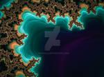 Beach Drone Dreams #fractal Abstract art print