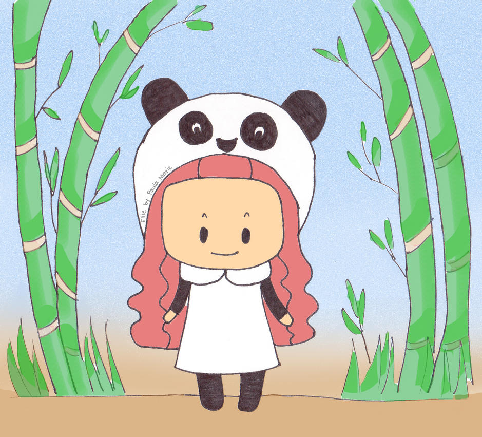 Ellie Panda by PauPixArts