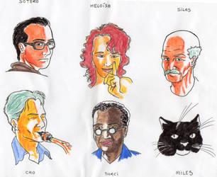 Os artistas de Piapolis by ProjetoChroma
