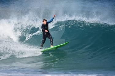Surfer by GrahamBuffinton