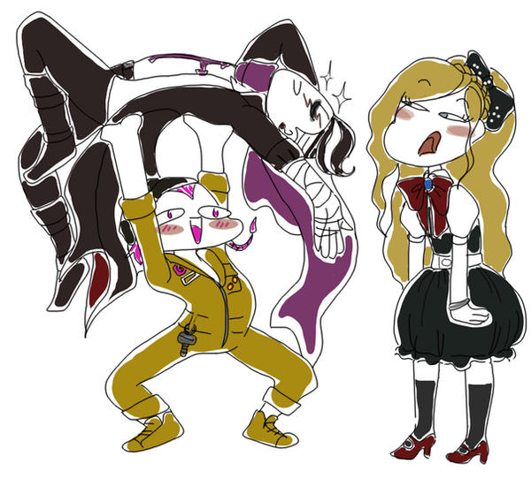 Draw the squad like - DR2 OT3 by EemiArt