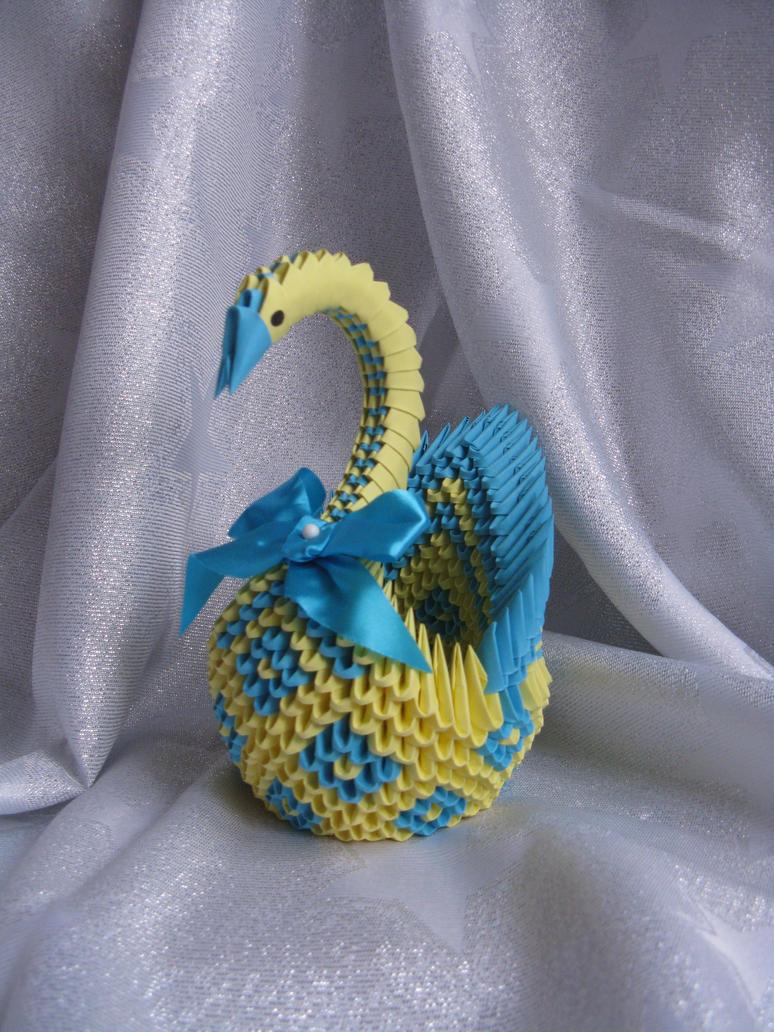 Diamond Patterned Swan by DreamsComeTrue2