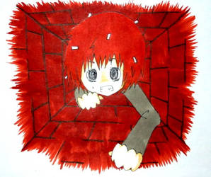Flaky trying to get out