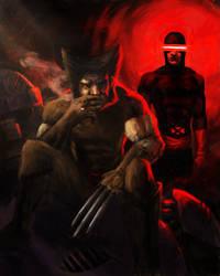 80s X-Men WIP by Aphelion-Art