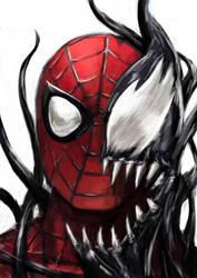 Spidey Symbiote by Aphelion-Art
