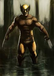 Wolverine Swamp by Aphelion-Art