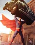 Action Comics #1 Homage by Aphelion-Art